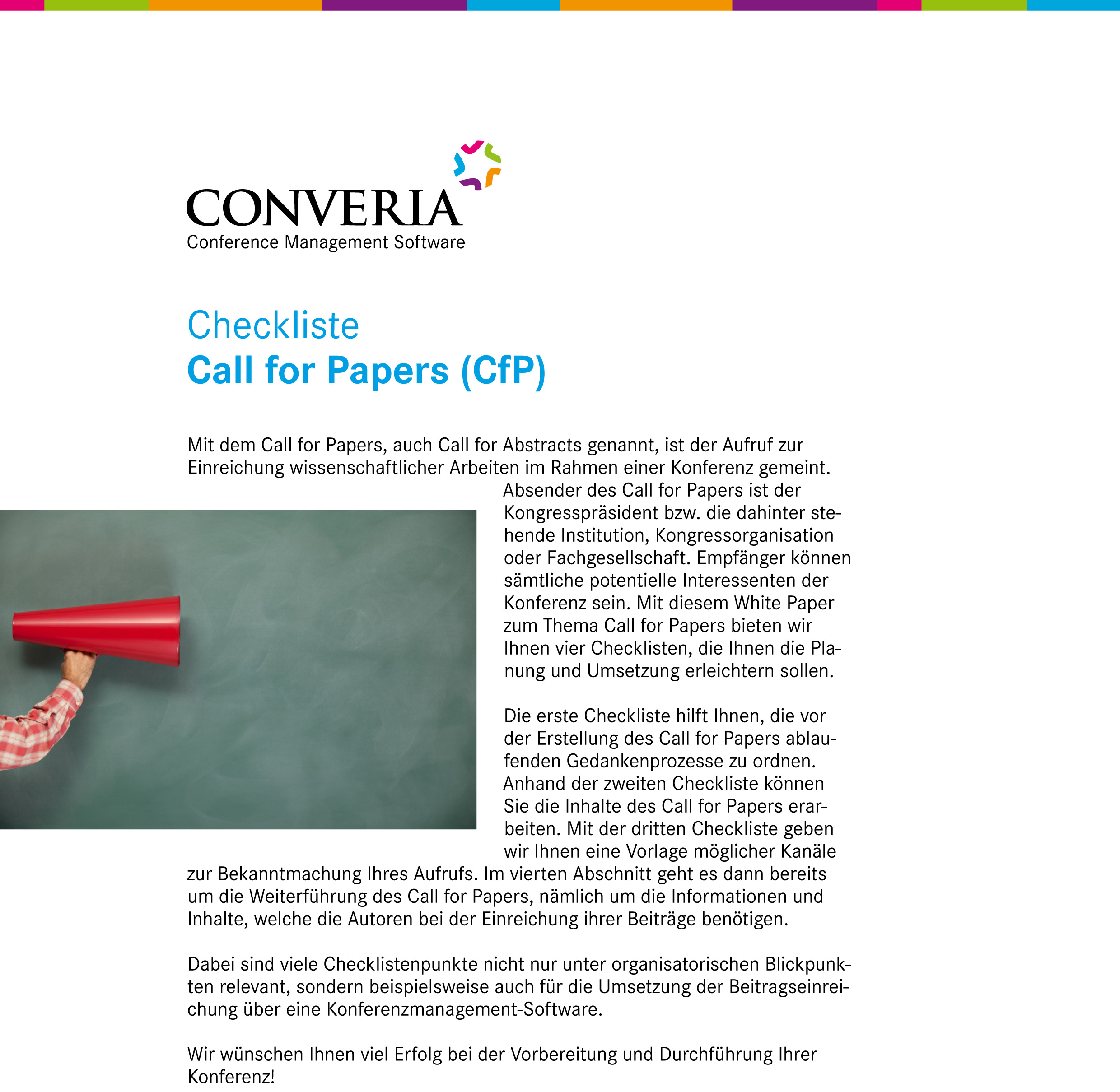 White Paper – Call for Papers